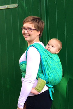 wrap-cross-backpack with unfolded chest part